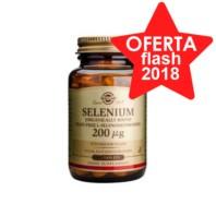 Solgar Selenio 200 µg sin levadura, 50 comprimidos