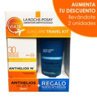La Roche Posay Kit de Viaje Anthelios W Ultra-Ligera Sport Gel SPF30 100ml + REGALO Posthelios 100ml. | Farmaconfianza