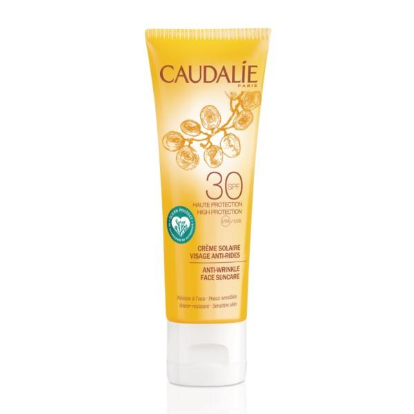 CAUDALIE Soleil Divin SPF30 40 ml tratamiento solar facial antiedad | Farmaconfianza