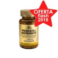 Solgar Nutrientes Prenatales, 60 comprimidos
