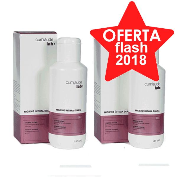 Cumlaude Gynelaude Higiene Intima Diaria, DUPLO 2x500 ml.