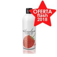 Naturalium Fruit Pleasure Gel de Baño y Ducha Frambuesa, 500 ml