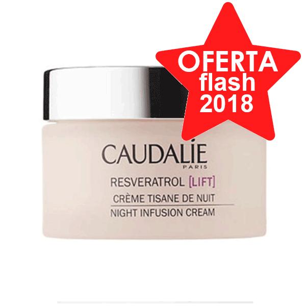 CAUDALIE Resveratrol Lift Crema Tisana de Noche, 50 ml. | Farmaconfianza