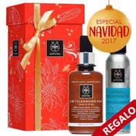 Apivita 3 en 1 Leche Limpiadora, 200 ml. + REGALO Agua Té Montaña, 100 ml. | Farmaconfianza