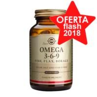 Solgar Omega 3-6-9, 60 perlas