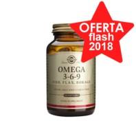 Solgar Omega 3-6-9, 120 perlas|Farmaconfianza