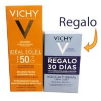 Vichy Idéal Soleil Tacto Seco SPF50, 50ml. | Farmaconfianza