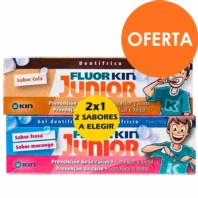 Kin FluorKin Junior Fresa Cola Duplo | Farmaconfianza