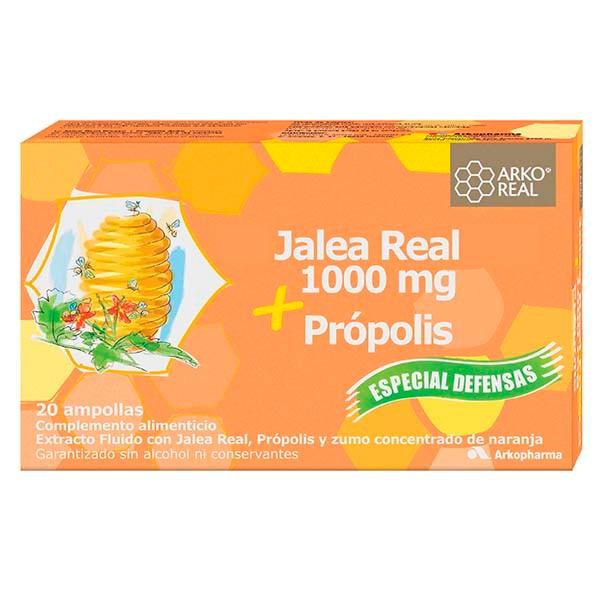 Arko Real Jalea Real Própolis, 20 ampollas | Farmaconfianza
