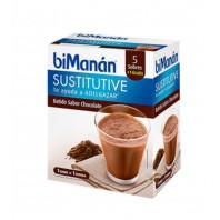 BiManan Sustitutive Batido Sabor Chocolate, 5 sobres | Compra Online