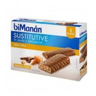 Bimanan Barrita Sustitutiva sabor Toffee, 8 barritas | Compra Online