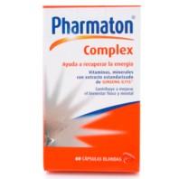 Pharmaton Complex, 60 cápsulas ! Farmaconfianza