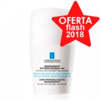 La Roche Posay Desodorante Fisiológico 24h Piel Sensible Roll-on, 50ml
