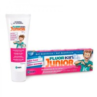 Fluor·Kin Junior Gel Fresa, 75 ml ! Farmaconfianza