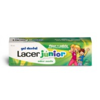Lacer Gel Dental Junior Menta, 75 ml ! Farmaconfianza