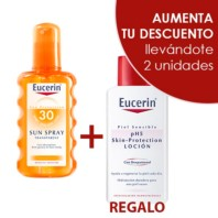 Eucerin Sun Spray Transparent SPF30 Oferta. | Farmaconfianza