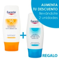 Eucerin Sun Allergy Protection Creme Gel SPF50, 150 ml. | Farmaconfianza