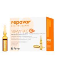 REPAVAR Revitalizante Ampollas Vitamina C Activa, 20 u