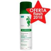 Klorane Champú Seco Seborregulador al extracto de Ortiga, 150 ml ! Farmaconfianza