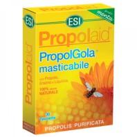 ESI Propolaid PropolGola masticable sabor menta, 30 tabletas