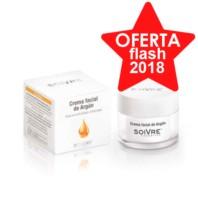 Soivre Aceite de Argán Crema Facial, 50 ml.