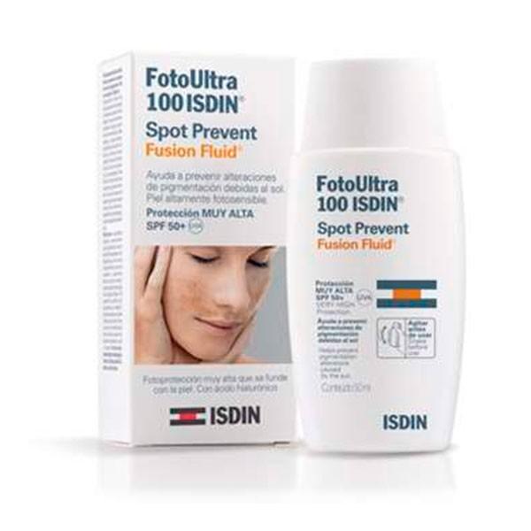 Isdin Fotoprotector Ultra 100+ Spot Prevent Fusion Fluid, 50 ml