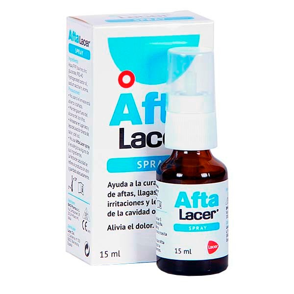 Lacer Afta Spray, 15 ml. ! Farmaconfianza