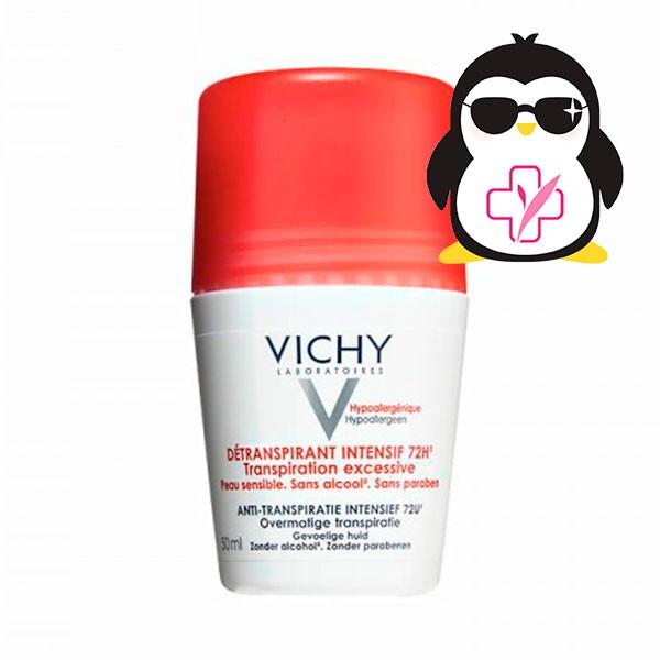 Vichy Desodorante Stress Resist 72h Roll-on, 50 ml