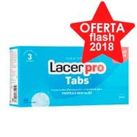 Lacer Protabs Limpieza Protesis Dental, 64 comp. ! Farmaconfianza