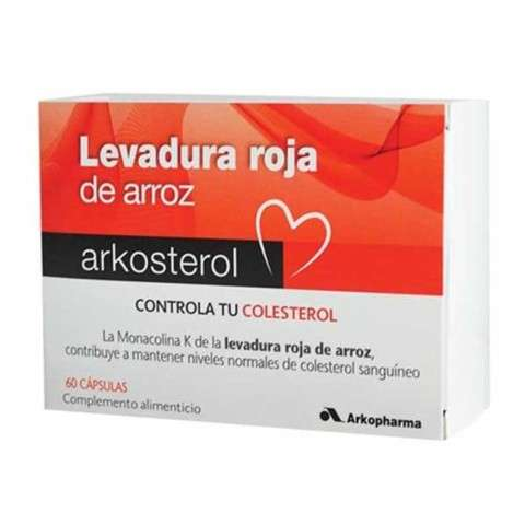 ARKOSTEROL Levadura Roja de Arroz 60 cápsulas, 21 g. ! Farmaconfianza
