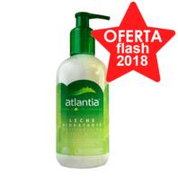 ATLANTIA Leche Hidratante Aloe Vera de Canarias 100% Ecológico, 250 ml