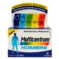 Multicentrum Hombre, 30 comprimidos ! Farmaconfianza