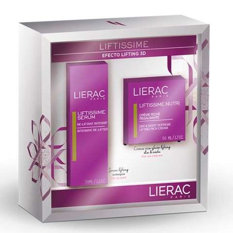 LIERAC Pack Oferta LIFTISSIME Crema Rica 50 ml. + Serum 30 ml. | Farmaconfianza