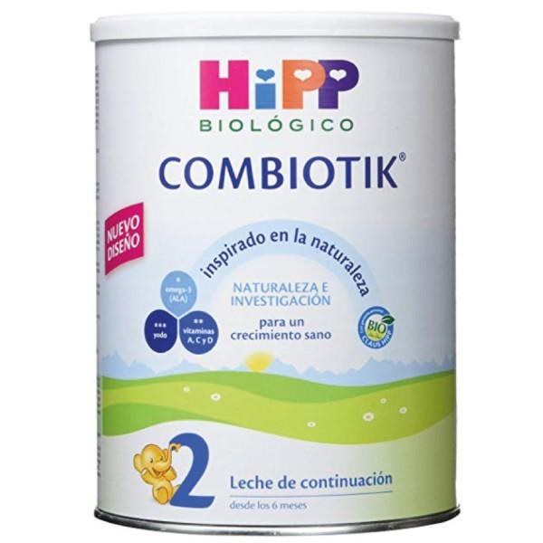 HIPP Leche Continuacion Combiotik 2 +6m, 800g | Farmaconfianza