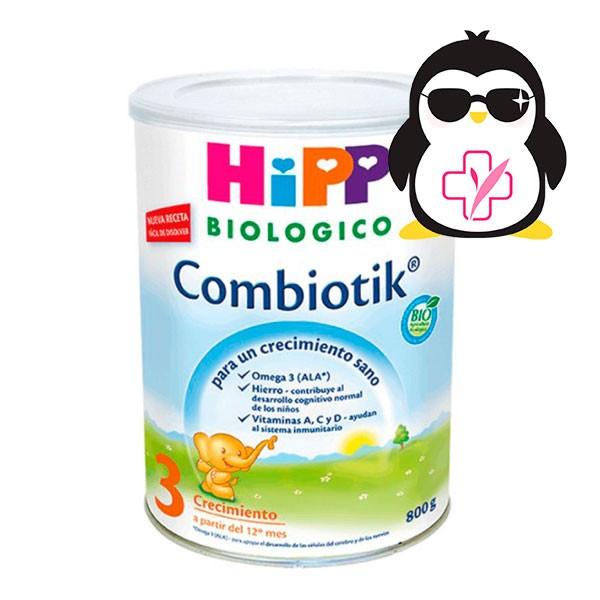 HIPP Leche Crecimiento Combiotik 3 +12m, 800g | Farmaconfianza