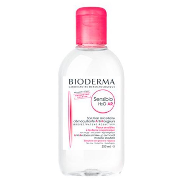 Bioderma Sensibio H2O AR Solución Micelar Específica para Rojeces, 250 ml.
