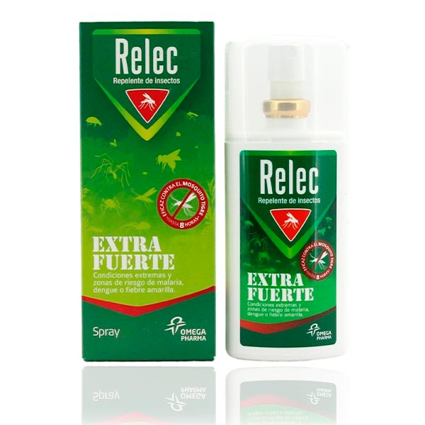 Relec Extra Fuerte Repelente de Insectos Spray (75 ml)