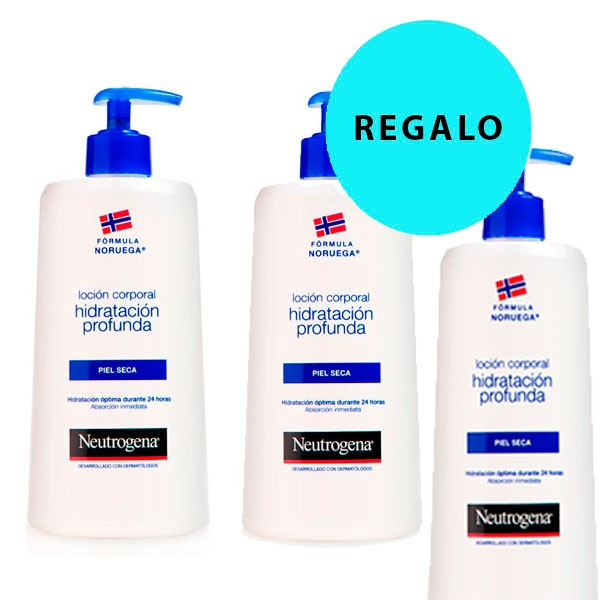 Compra Online Neutrogena Loción Piel Seca Duplo 2x750 ml