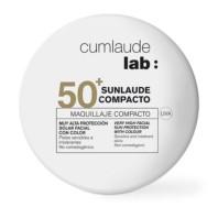 Sunlaude Maquillaje Compacto Tono Light SPF50, 10g.   Farmaconfianza