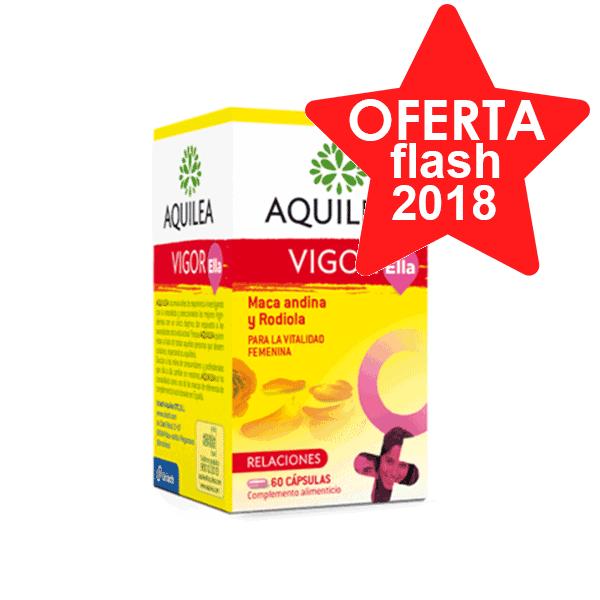 Aquilea Vigor Ella, 60 cápsulas | Farmaconfianza