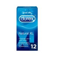 Durex Natural XL, 12 Preservativos | Farmaconfianza