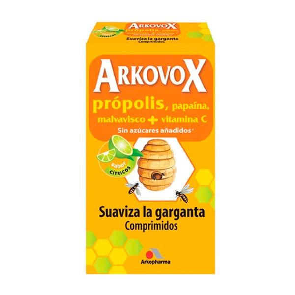Arkovox Própolis + Vitamina C sabor cítricos, 24 comprimidos ! Farmaconfianza