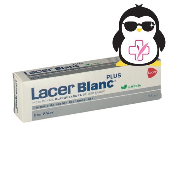 LacerBlanc Plus Pasta Dental Blanqueadora d-Menta, 75 ml. ! Farmaconfianza