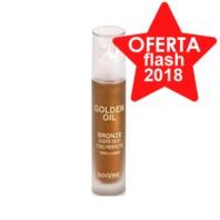 Soivre Aceite Seco Golden Oil Bronze para rostro y cuerpo, 50 ml