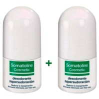 Somatoline Cosmetic Desodorante Hipersudoración Roll-on, 2x30 ml ! Farmaconfianza