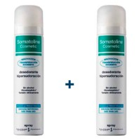 Somatoline Cosmetic Desodorante Hipersudoración Spray, 2x75 ml ! Farmaconfianza