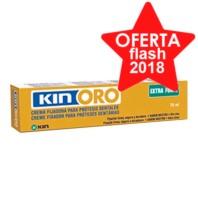 Kin Oro Crema Fijadora Extra Forte, 75 ml. | Farmaconfianza