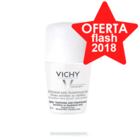 Vichy Desodorante Anti-transpirante 48h. Roll-on, Piel Sensible, 50 ml
