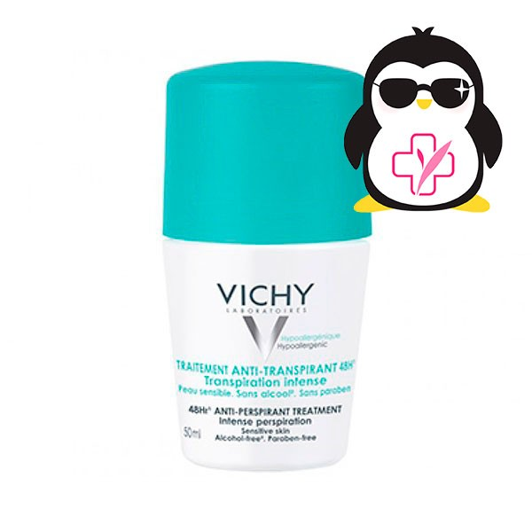 Vichy Desodorante Anti-transpirante 48h. Roll-on, 50 ml