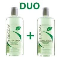 Ducray DUO Champú Extra-Doux Equilibrante, 2 x 400ml. |Farmaconfianza